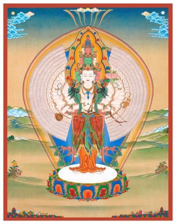 1000 Armed Avalokiteshrara | Jamyong Singye | 2015
