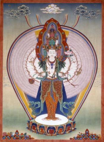 1000 Armed Avalokiteshvara | Jamyong Singye | 1993