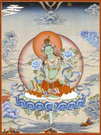 Jamyong Singye | Green Tara | 1990
