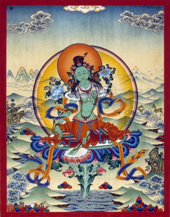 Green Tara | Jamyong Singye | 1994