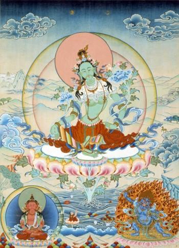 Green Tara | Jamyong Singye | 1995