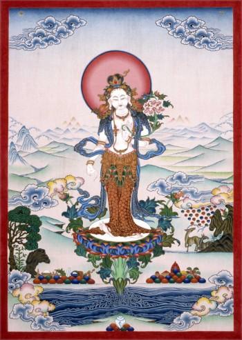 Standing White Tara | Jamyong Singye | 1995